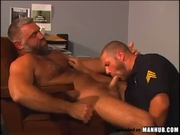 Rookie officer gets eaten and fucked