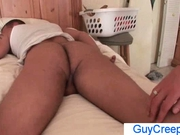 Dude gets ass rimmed by guycreep