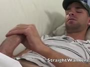 Two hand Cock masturbation.
