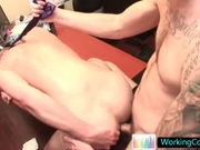 Cole gets his hot ass fucked deep