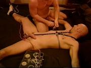 CBT Electric Stimulation, ball sucking and BJ