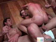 Ashton parker in amazing gay foursome