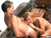 Spicy Latin Tranny absolutely LOVES anal