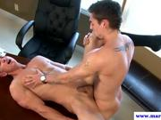 Straight guy jumps on studs big dick