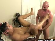 Hot gay Pervy boss Mitch Vaughn finally