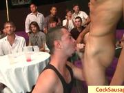 Same really hot gay blowjob party