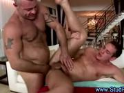 Gay masseur assfucks straight client