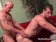 Hot gay guy fucking and sucking