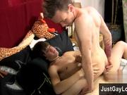 Amazing gay scene There\'s a lot of kissing