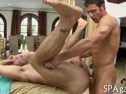 Arousing anal banging