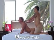 HD - ManRoyale Hot muscled guys get kinky