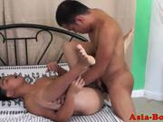 Ethnic filipino tw-nk assfucks buddy bareback