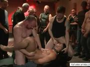 Group bdsm with Hayden Richards