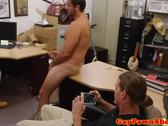 Gaystraight pawnclient wanking off in office