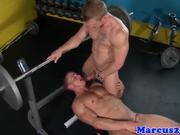 Cut gaysex jock plays the bottom b-tch
