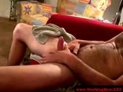 Redneck mature straight tasting cock