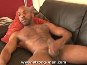 Black Man With Beautiful Body Jerking Off
