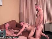 Sexy gay bareback fucking and cock