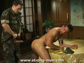 Military Muscle Ass Licking & Banging Action