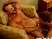 Hot gay Thankfully, muscle daddy Casey has