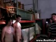 Straight guy turns guy and gets cumshot