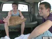 Backseat Dude Trick Blowjob