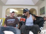 HQ interracial gay action