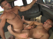Beefcake Trace Michaels Is On The Bait Bus!