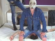 Two sexy gay boys on slave