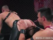 Stud Bruno Gets Their Ass Eaten