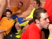 Sporty Lacrosse Jocks Have a Wild Orgy