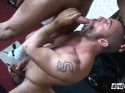 Hairy Bodybuilding Bears Fuck Bareback Style