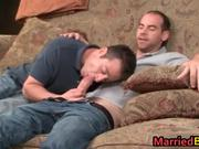 Married guy having hardcore gay sex