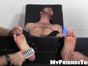 Officer Christian Wilde tickled hard