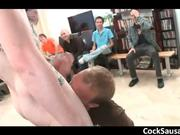 Amazing stripper gets sucked by 50 guys