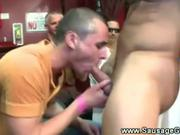 Stripper gets his cock eaten by gay lips