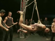 Sex slaves extreme bondage group sex