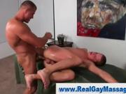 Straighty ass fucked by gay massage hunk