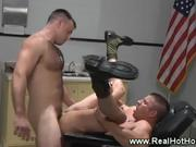 military jock penetrated