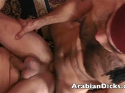 Middle Eastern Cocks Threesome