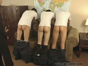 Three students get SPANKED for bad behavior