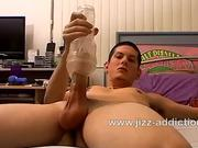 Star Austin Lucas plays with fleshlight