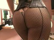 Ultra hot tranny banged by black monster