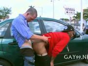 Two gays in hot xxx scene
