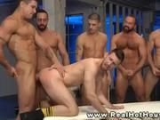 Pornstar hunk filling ass with cock group gay