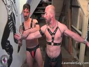 Nasty bondage gay couple Reed Matthews