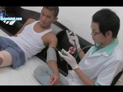 Gay Doctor Taking Advances On Cute Asian Guy