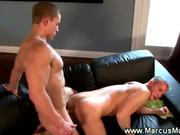 Straight pornstar bottom gets plowed