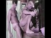 Vintage Bi MMF with  Cassie Nova