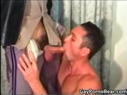 Nasty police officer gets hot blowjob